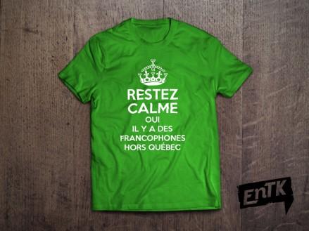 L'entreprise EntK produit des t-shirts et accessoires francos.